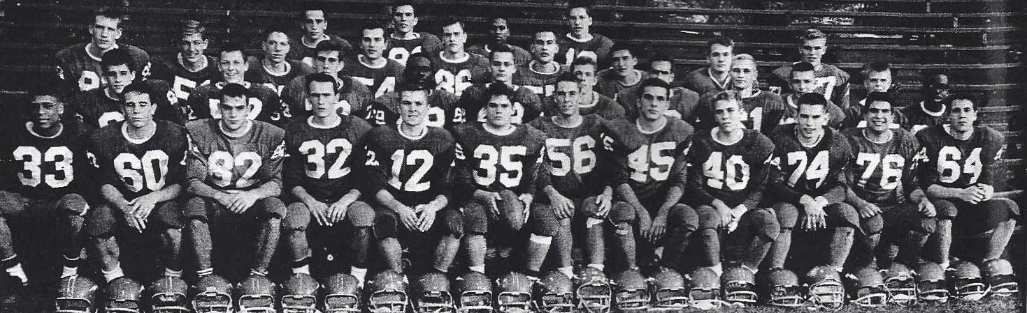 1963 Greenwich High School Football Team Picture